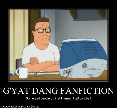 G'YAT DANG FANFICTION