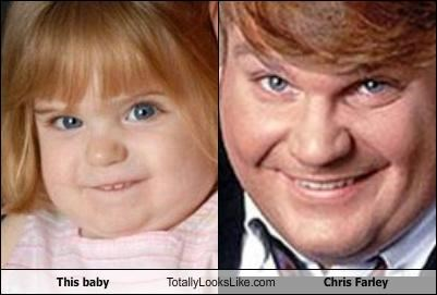 This Baby Totally Looks Like Chris Farley