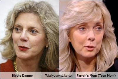 Blythe Danner Totally Looks Like Farrah's Mom (Teen Mom)