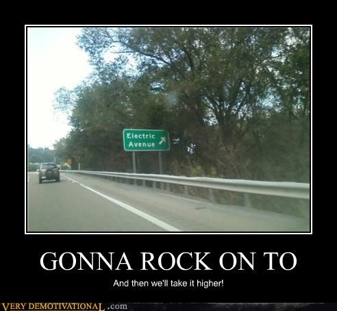 GONNA ROCK ON TO