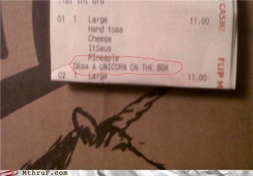 delivery,food service,pizza,unicorn