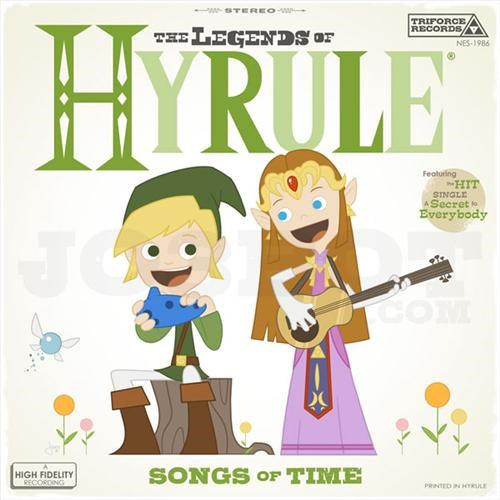 Retro Zelda Album Art of the Day
