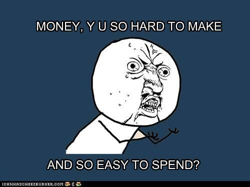 Money, Y U Root of All Evil Today?