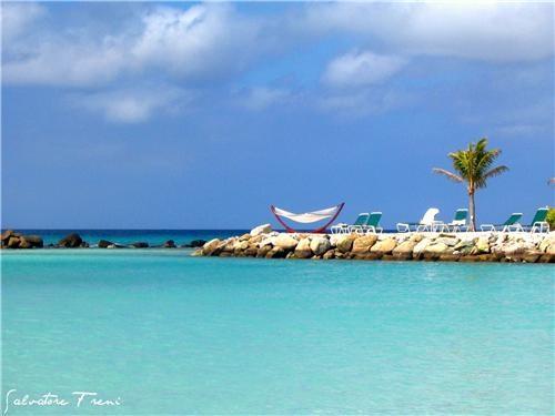 aruba,blue,caribbean,clouds,getaways,hammock,ocean,relaxation,Tropical,water