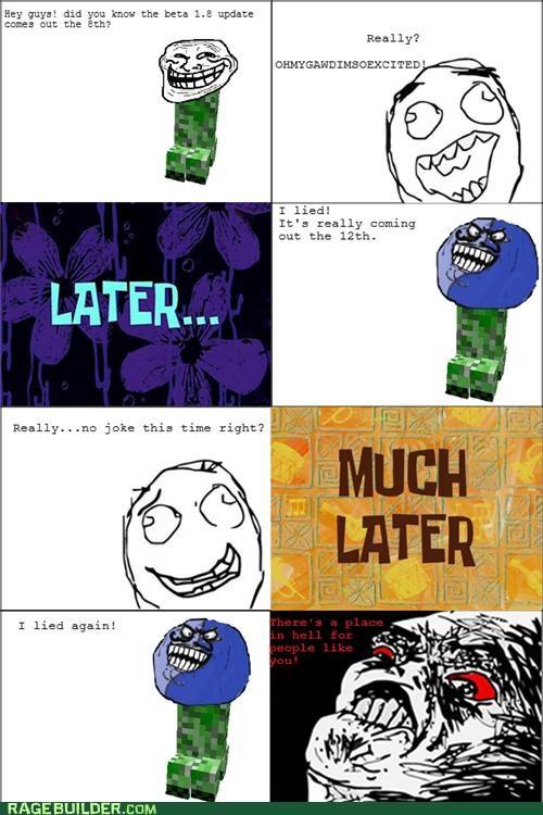 Minecraft troll