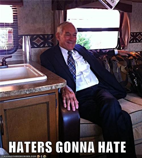 HATERS GONNA HATE