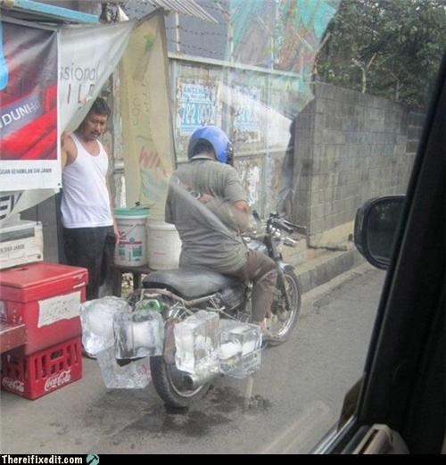 delivery,ice,motorcycle,transportation,wtf