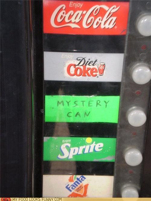 Mystery Soda Machine