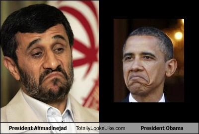 President Ahmadinejad Totally Looks Like President Obama