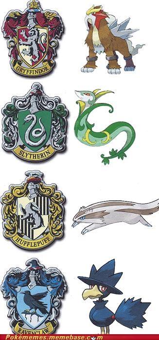 crossover,entei,Harry Potter,linoone,murkrow,Pokémon,serperior,tv-movies