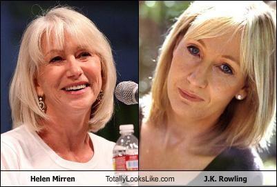 Helen Mirren Totally Looks Like J.K. Rowling