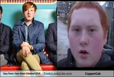 Guy from Two Door Cinema Club Totally Looks Like CopperCab
