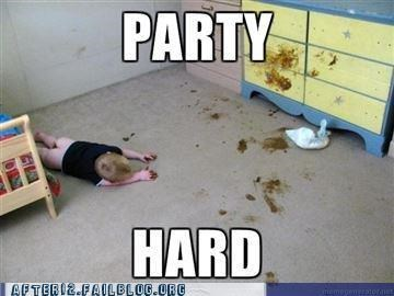 It's The Weekend! Party Til You're Pooped!