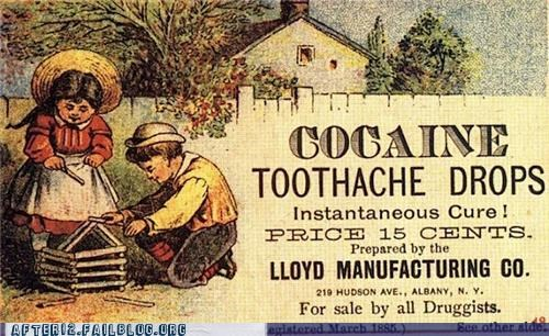 I'd Like 150,000 Drops Please, My Tooth REALLY Hurts