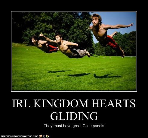 IRL KINGDOM HEARTS GLIDING