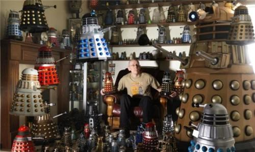 World's Largest Dalek Collection of the Day