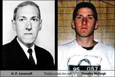 H. P. Lovecraft Totally Looks Like Timothy McVeigh