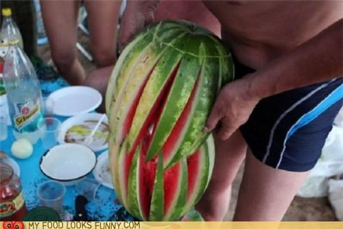 Creative Melon Carving