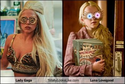 Lady Gaga Totally Looks Like Luna Lovegood