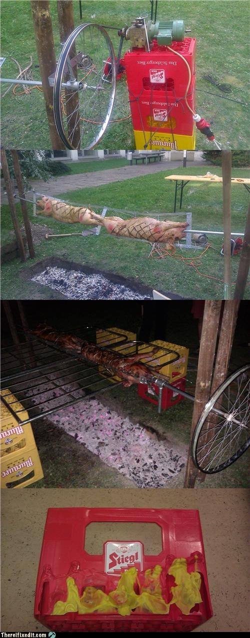 barbecue,cooking,dual use