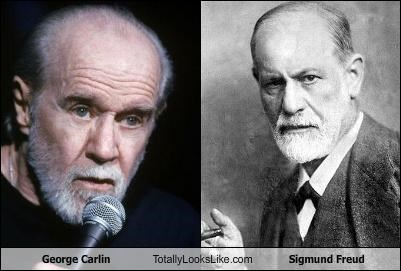 George Carlin Totally Looks Like Sigmund Freud