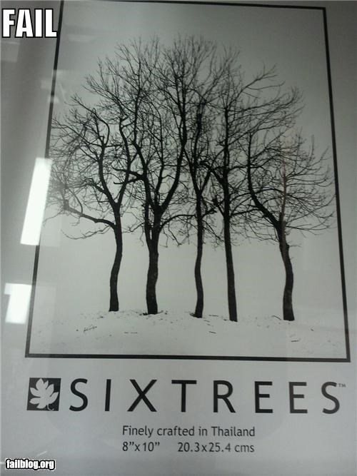 Six Trees FAIL