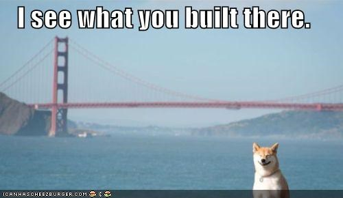 I see what you built there.