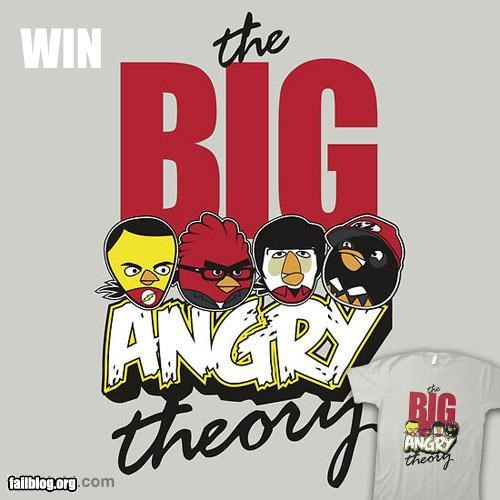 TBBT Shirt Win