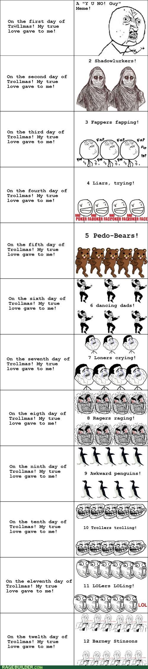 The Twelve Days of Trollmas
