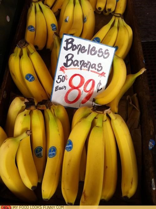 bananas,boneless,cowards,sign,store
