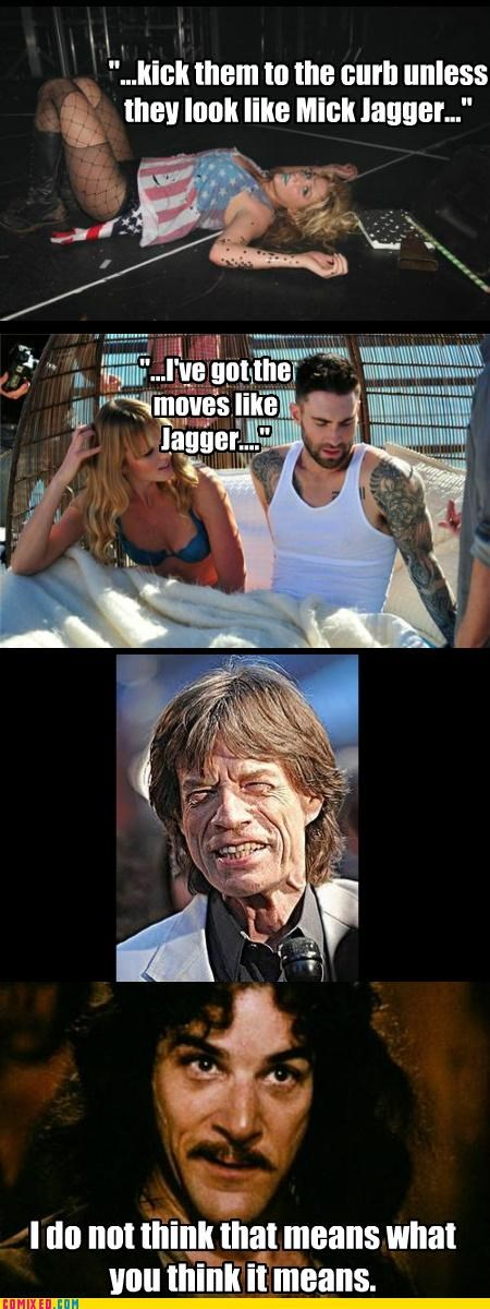 Jagger/Jagged, Same Thing