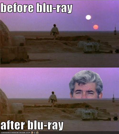 before blu-ray  after blu-ray