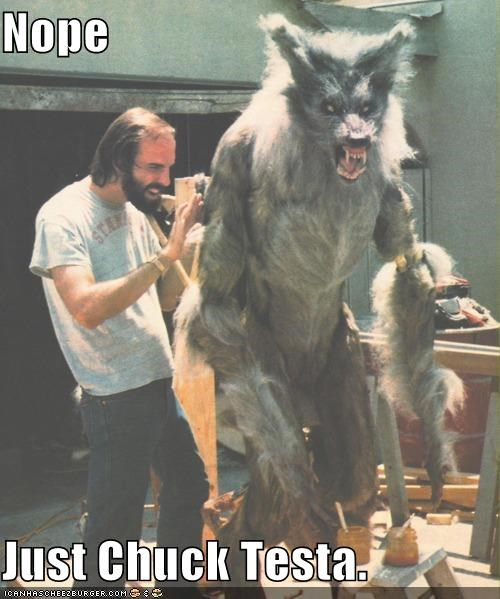 Holy Sh*t! A Real Werewolf!!!