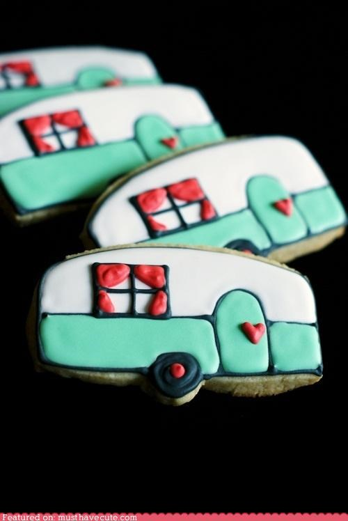cookies,decorated,epicute,icing,trailers