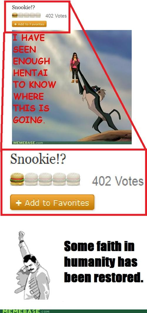 Snookie Are the Other Cheeseburgers...