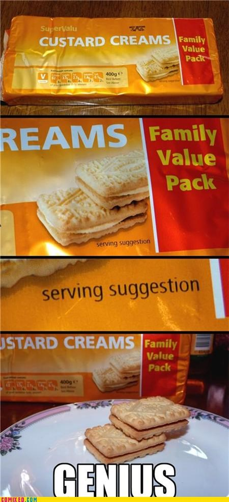 custard,family value,presentation,serving suggestion,the internets