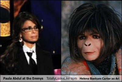 Paula Abdul at the Emmys Totally Looks Like Helena Bonham Carter as Ari
