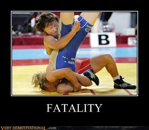 fatality,hilarious,ladies,wrestling