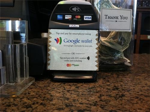 Google Wallet Sighting of the Day