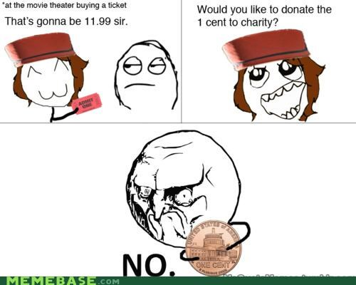 admit one,coin,movies,no,Rage Comics,ticket