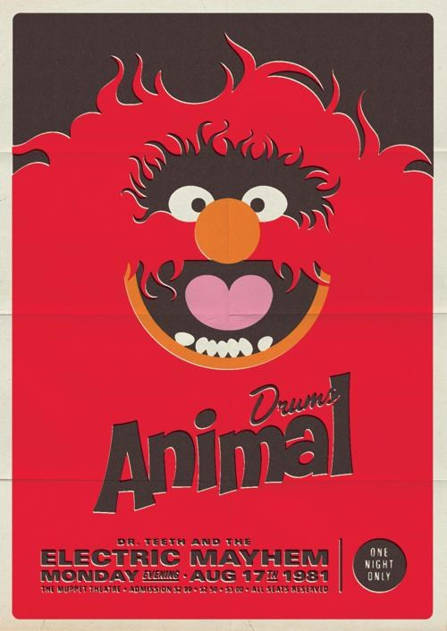 Muppet Concert Posters of the Day