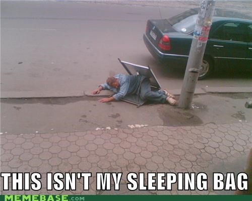bag,campsite,car,chair,drunk,fire,Memes,sleeping,what