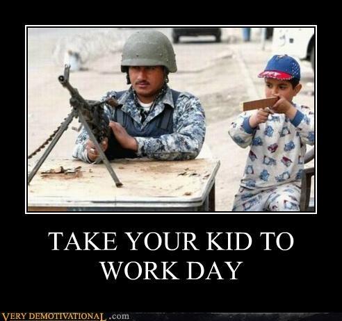 guns,hilarious,kids,work