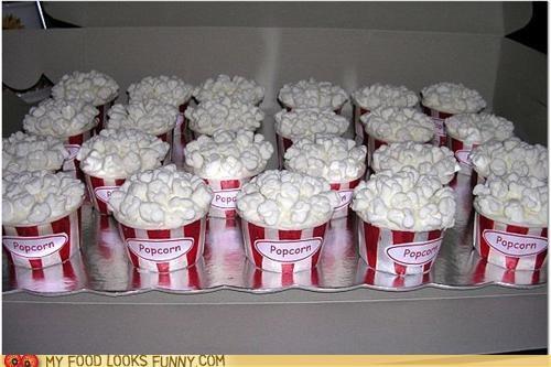cupcakes,illusion,Popcorn,tricky