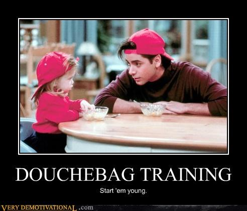 DOUCHEBAG TRAINING