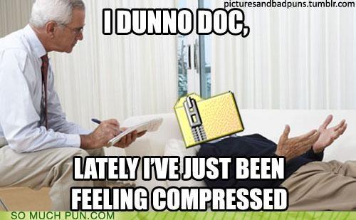 Compressed,depressed,literalism,psychiatrist,similar sounding