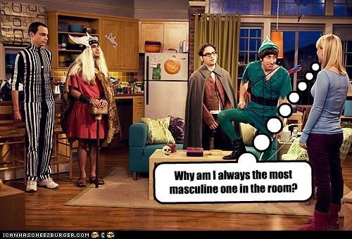 costume,feminine,masculine,nerds,roflrazzi,the big bang theory,TV