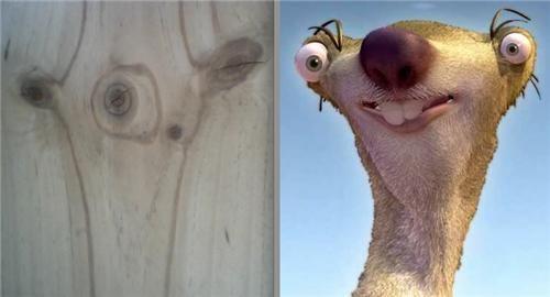 animated,animated movie,board,ice age,Movie,sid the sloth,wood