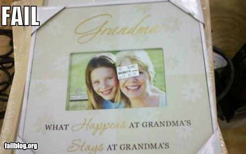 Family Photo Frame FAIL