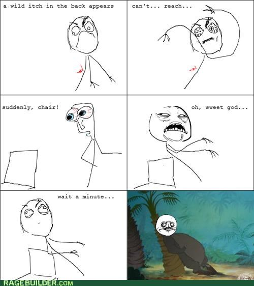 awesome,itch,Rage Comics,The jungle book